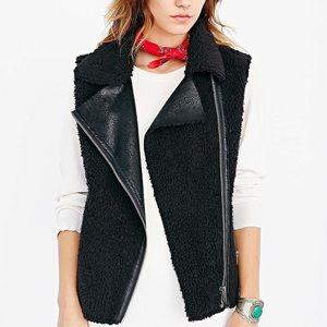 Numph Black Taylor Vest - Size XS (NWOT)